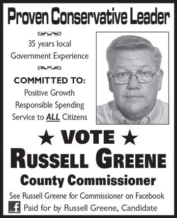 Russell Greene for County Commissioner